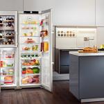 Liebherr SBSes 7165 Side-by-Side: места хватит для всех продуктов