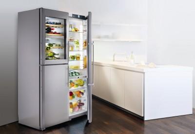 Немецкие холодильники в интерьере квартиры в Москве